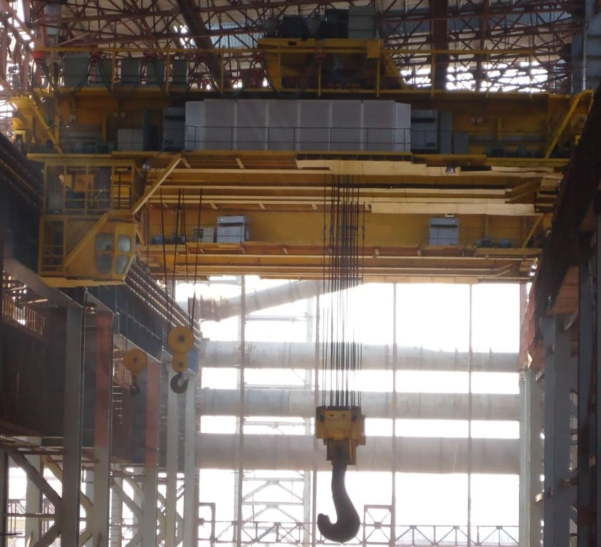 Four Girder EOT Crane